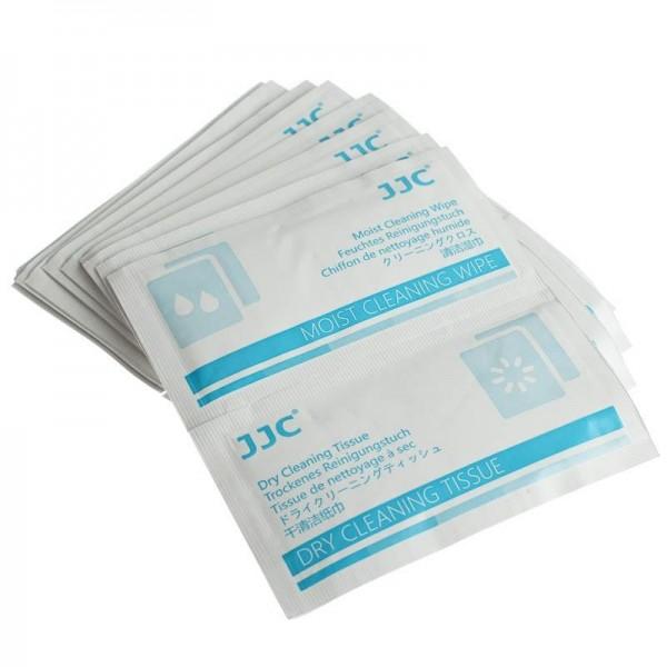 JJC CL-T5 Reinigungstücher-Kits für Objektivlinsen, Filter etc.