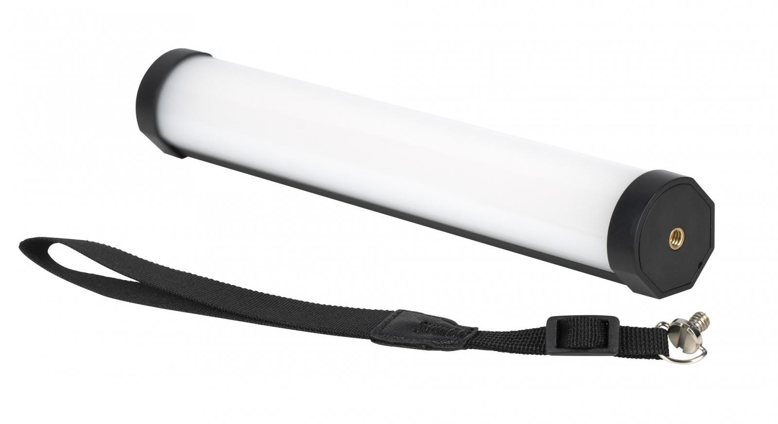 Kaiser Fototechnik NANLITE Mini-Farb-Effektleuchte PavoTube II 6C RGBWW in Röhrenform. Weißes  Licht