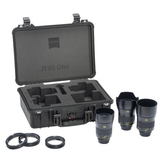 Otus Bundle ZE mit 1,4/28, 1,4/55, 1,4/85, Lens Gears + Koffer