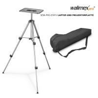 Walimex Stativ140 cm +  Laptop- & Projektorplatte