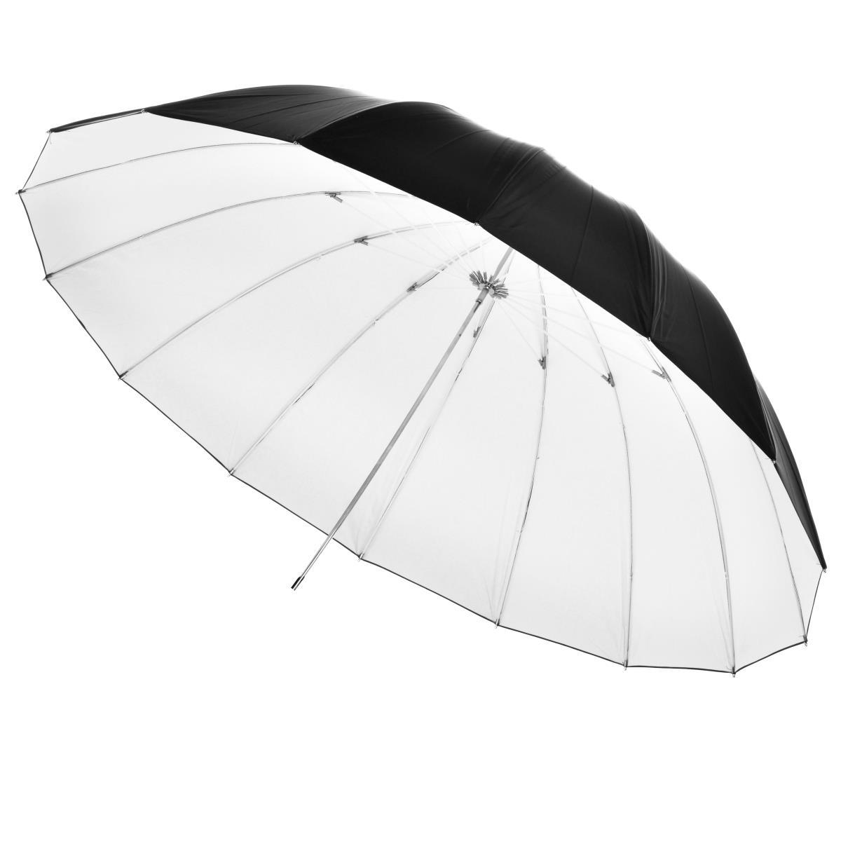 Walimex pro Walimex Reflexschirm schwarz/weiß, 180cm