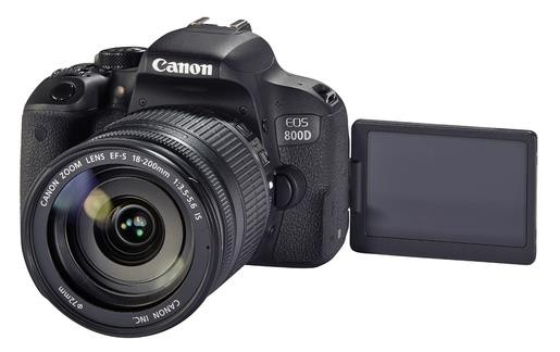 Canon EOS 800D+EF-S 3,5-5,6/18-200mm IS Kit