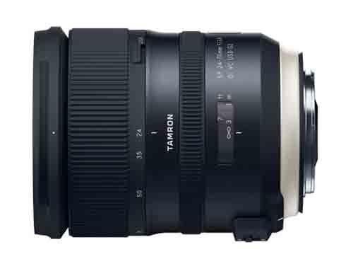 Tamron SP 2,8 / 24-70mm Di VC USD G2 Canon EF schwarz, Objektiv