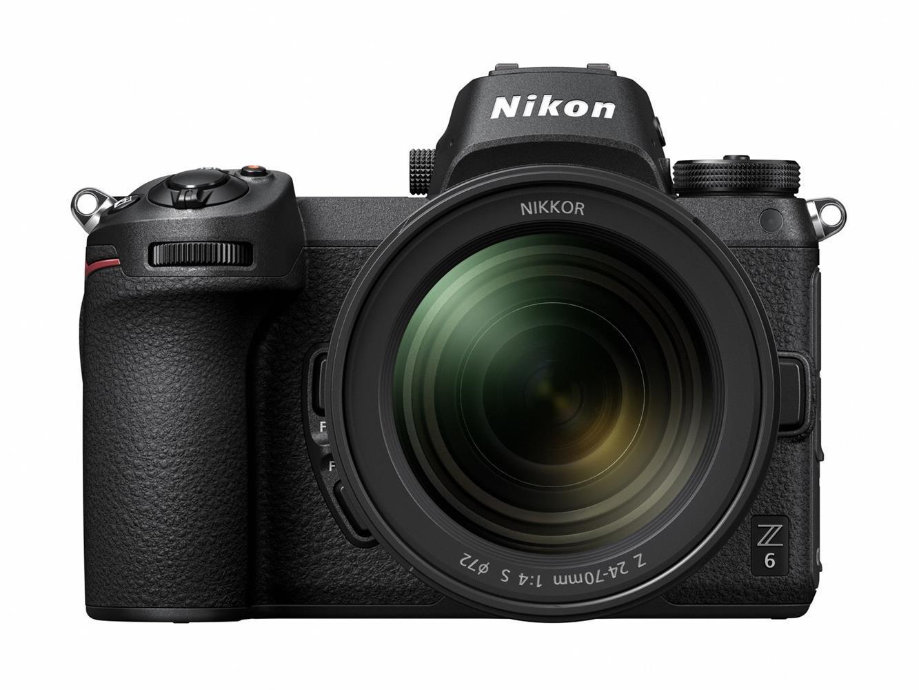 Nikon Z6 + 24-70 mm 1:4 S + FTZ Objektivadapter